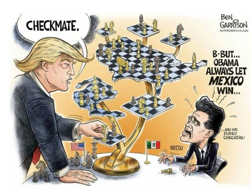 Trump & 4D Chess